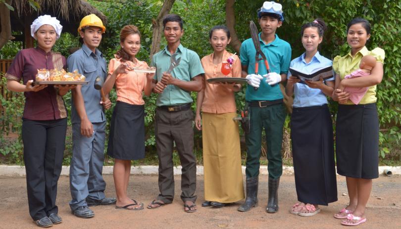 Les formations professionnelles offertes à PSE représentées par nos étudiants