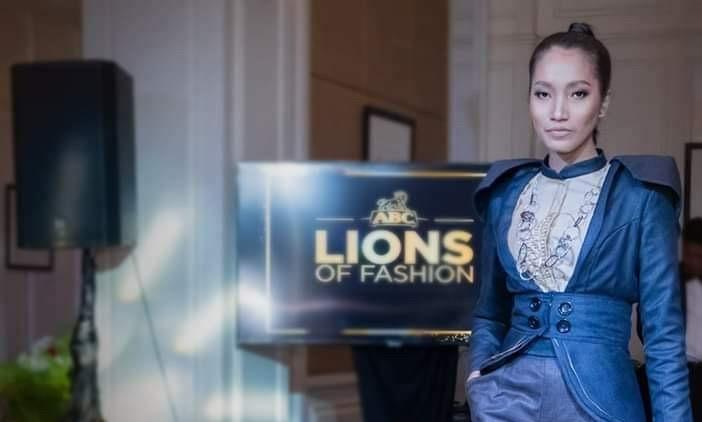 Sreypov lors des Lions of Fashion
