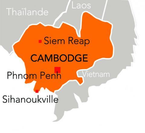 Zoom sur le centre principal de PSE au Cambodge, à Phnom-Penh
